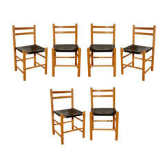 Set of Four Danish Side Chairs