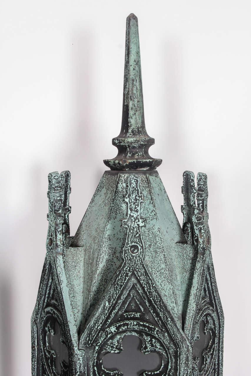 Bronze Gothic Lamps 4
