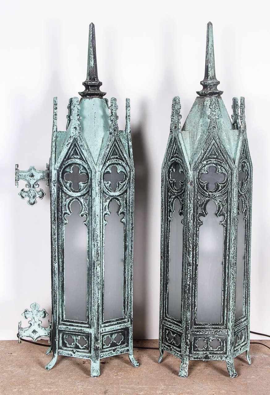 Bronze Gothic Lamps 7