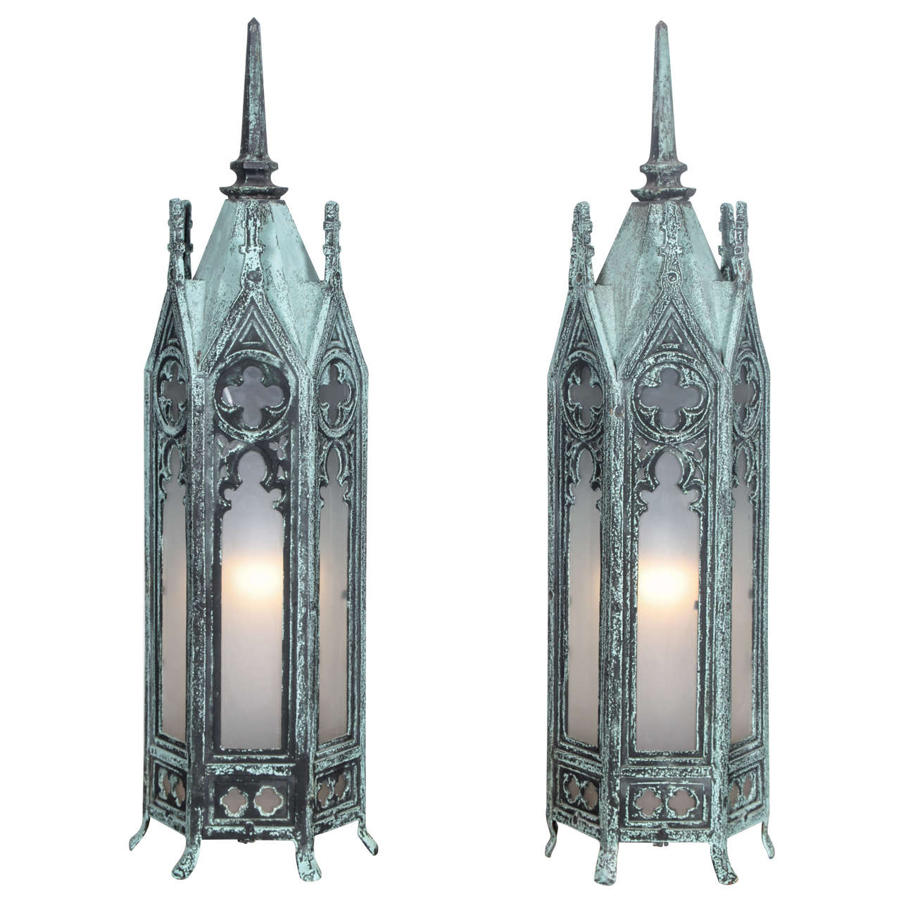 Bronze Gothic Lamps At 1stdibs