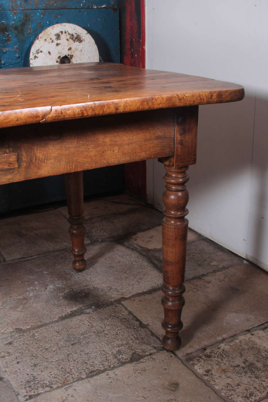 Louis Philippe Style Walnut Dining Table At 1stdibs