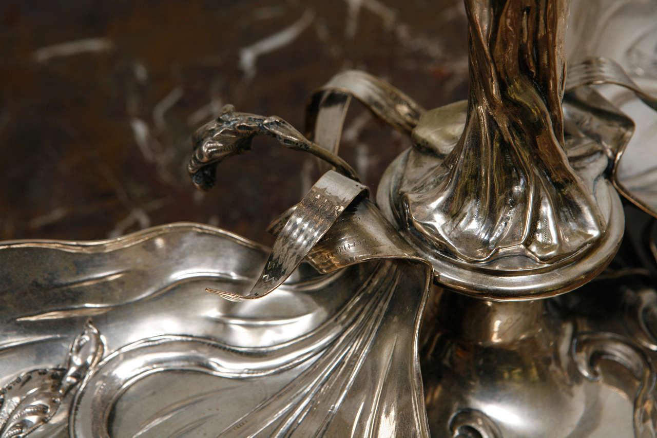 1920s sterling silver art nouveau centerpiece at 1stdibs for Art 1576 cc
