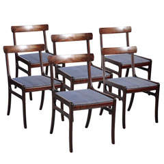 Ole Wanscher Set of Six Dining Chairs