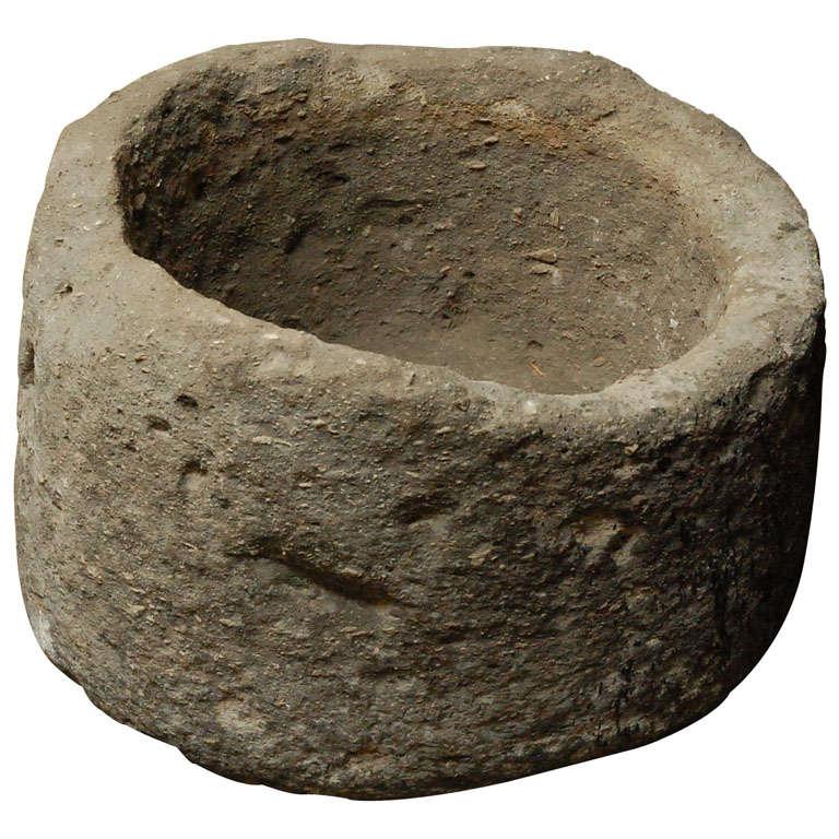 Antique Stone Jardiniere