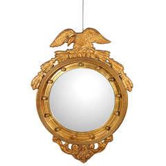 Federal Style Convex Wall Mirror