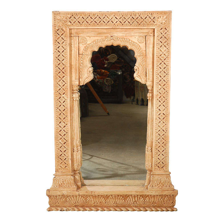 anglo indian moorish arched mirror 1
