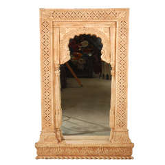 Anglo Indian Moorish Arched Mirror