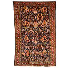 1910 Chahal Shotor Bakhtiari Rug with Handspun Wool and Organic Vegetal Dyes