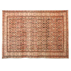 Persian Malayer Carpet with Herati Mahi Design, circa 1900