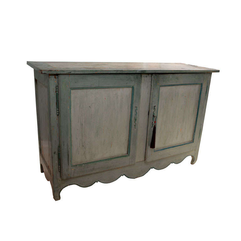 French Provincial Painted Buffet