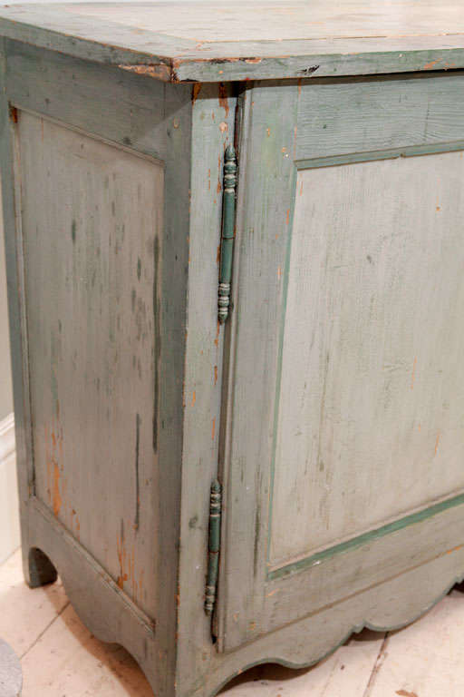 Wood French Provincial Painted Buffet