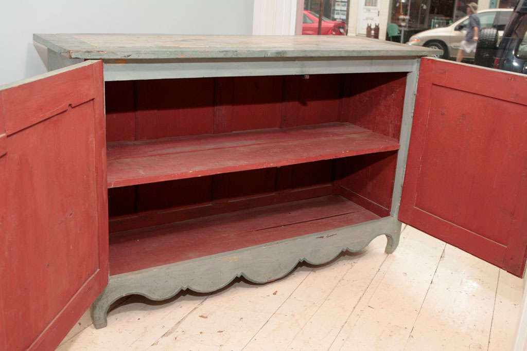French Provincial Painted Buffet 2