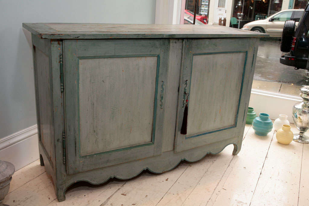 French Provincial Painted Buffet 5