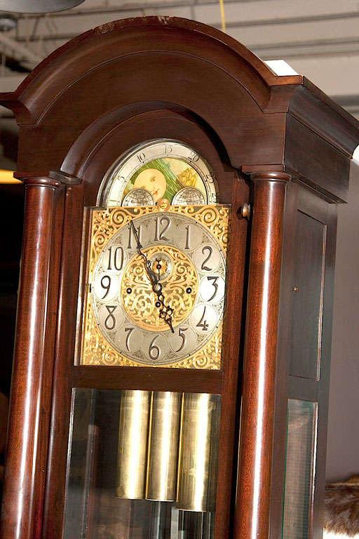 german herschede grandfather clock 3 - Grandfather Clocks