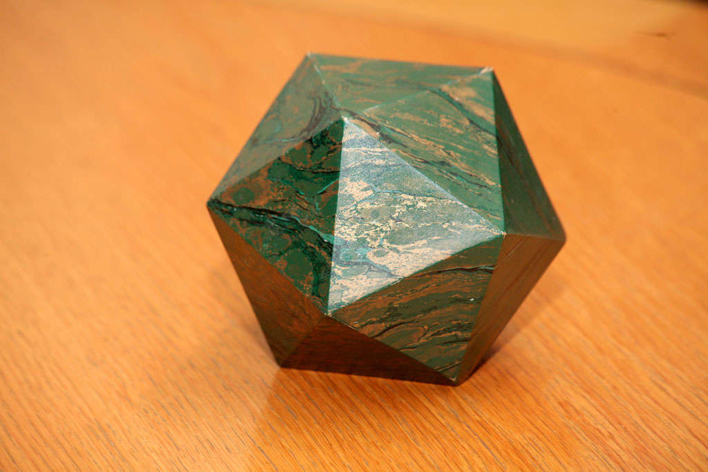 French A Marblized Polyhedron Weight