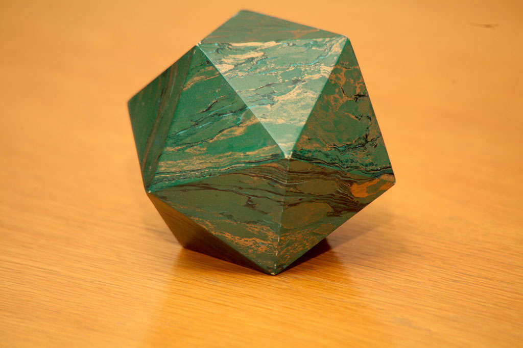 A Marblized Polyhedron Weight 1