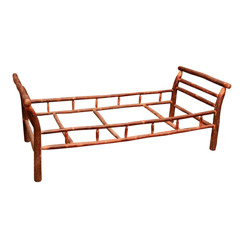 Adirondack day bed at 1stdibs Adirondack bed frame