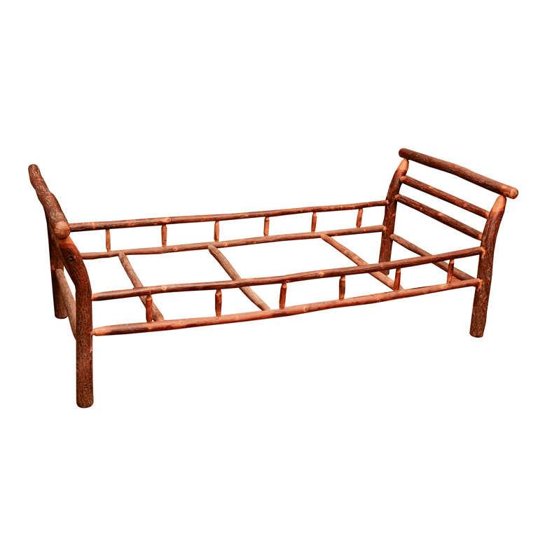Adirondack day bed at 1stdibs Adirondack bed frame