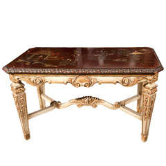 Fine Maison Jansen Chinoiserie Coffee Table