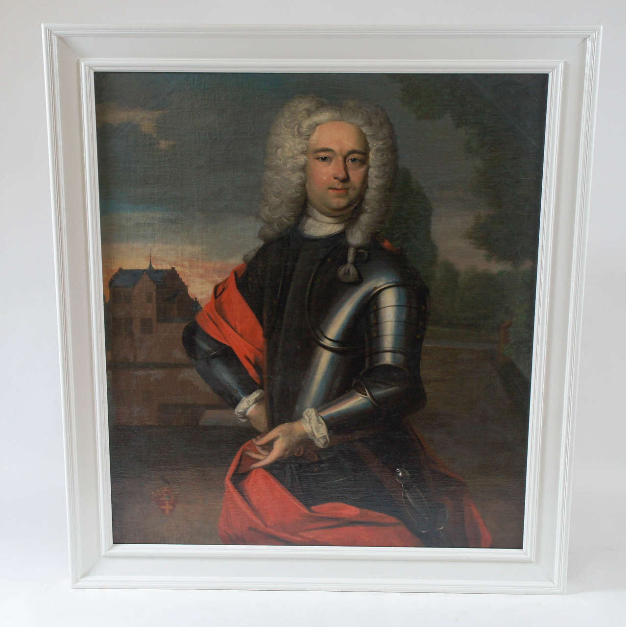 Important Portait Painting of a Nobleman, The Netherlands, circa 1760 2