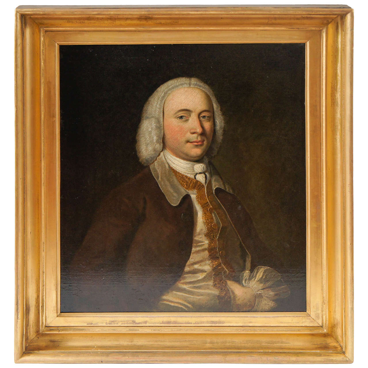 Exceptional Portrait of a Gentleman, England, circa 1740 1