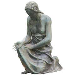 05187 Serene Bronze Maiden