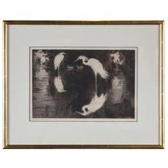 """Dark Pool"" by Frank Weston Benson"