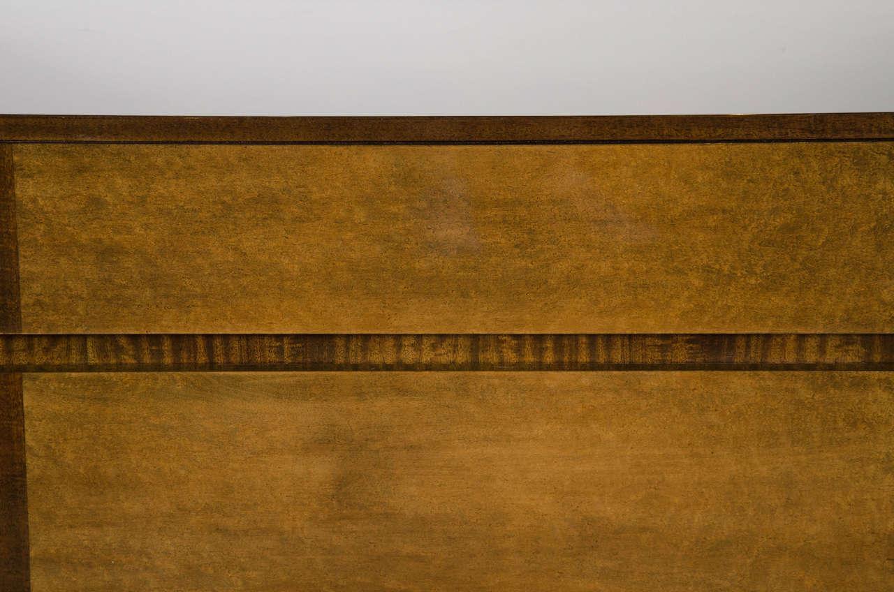 Art Deco Chest in Book-matched Mahogany & Exotic Elm, Manner of Eliel Saarinen 4