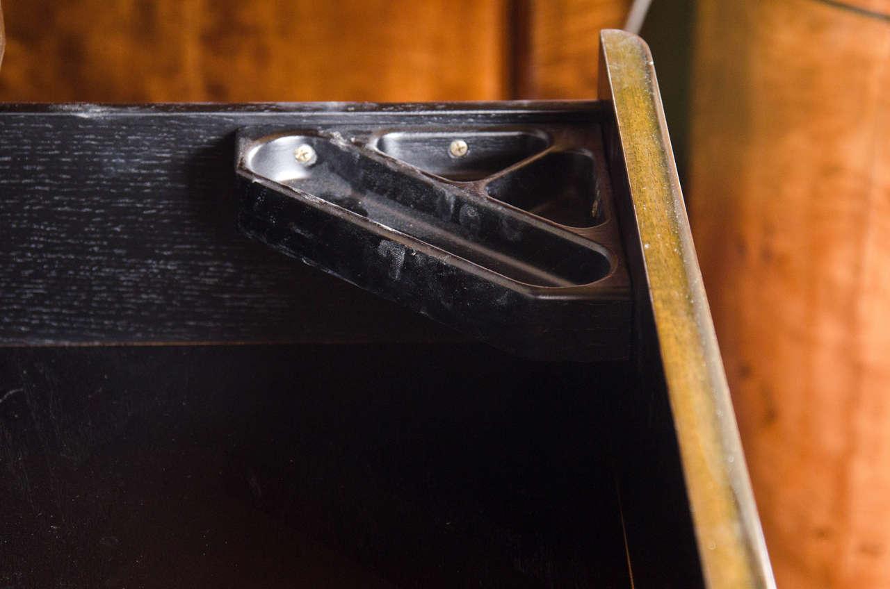 Art Deco Chest in Book-matched Mahogany & Exotic Elm, Manner of Eliel Saarinen 5