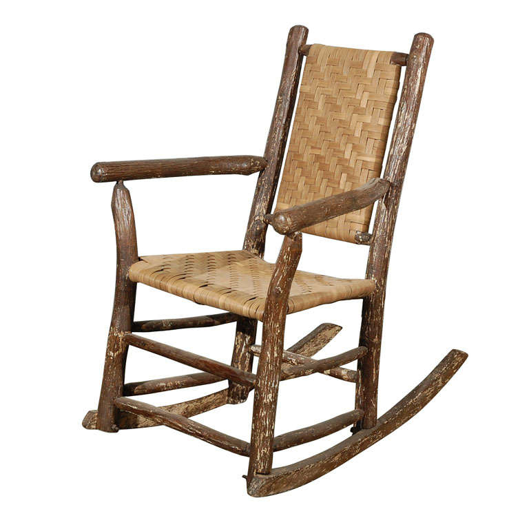 Old Hickory Rocking Chair at 1stdibs