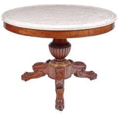 French Mahogany Center Table