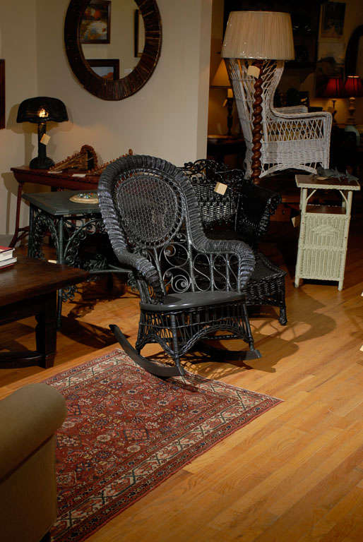 This Heywood Wakefield Victorian Childs Rocking Chair c.1900 is no ...