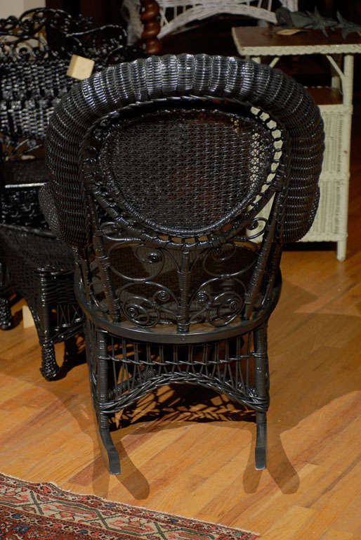 Heywood Wakefield Victorian Childs Rocking Chair c.1900 For Sale at ...