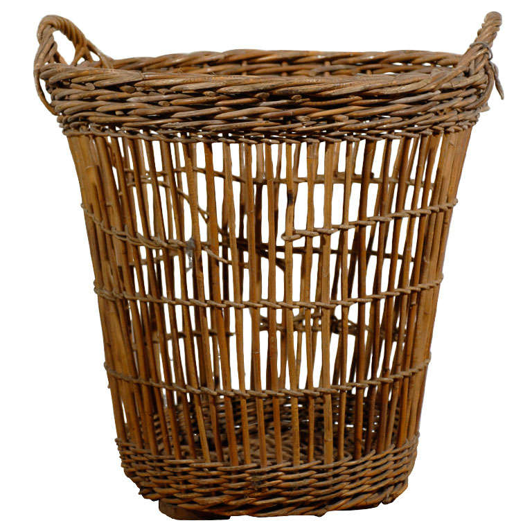 19th Century French Basket