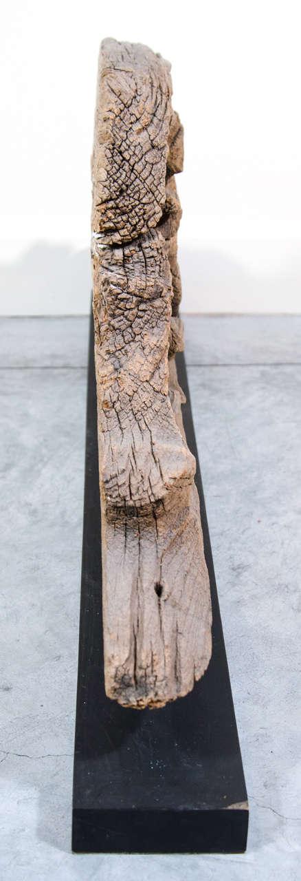 Antique Burmese Carved Lintel For Sale 1