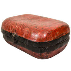 Antique Lacquered Food Box