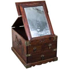 19th Century Rosewood Jewelry Box