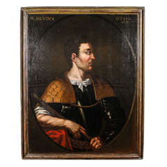 16th c. Italian Painting of  Emperor Otho