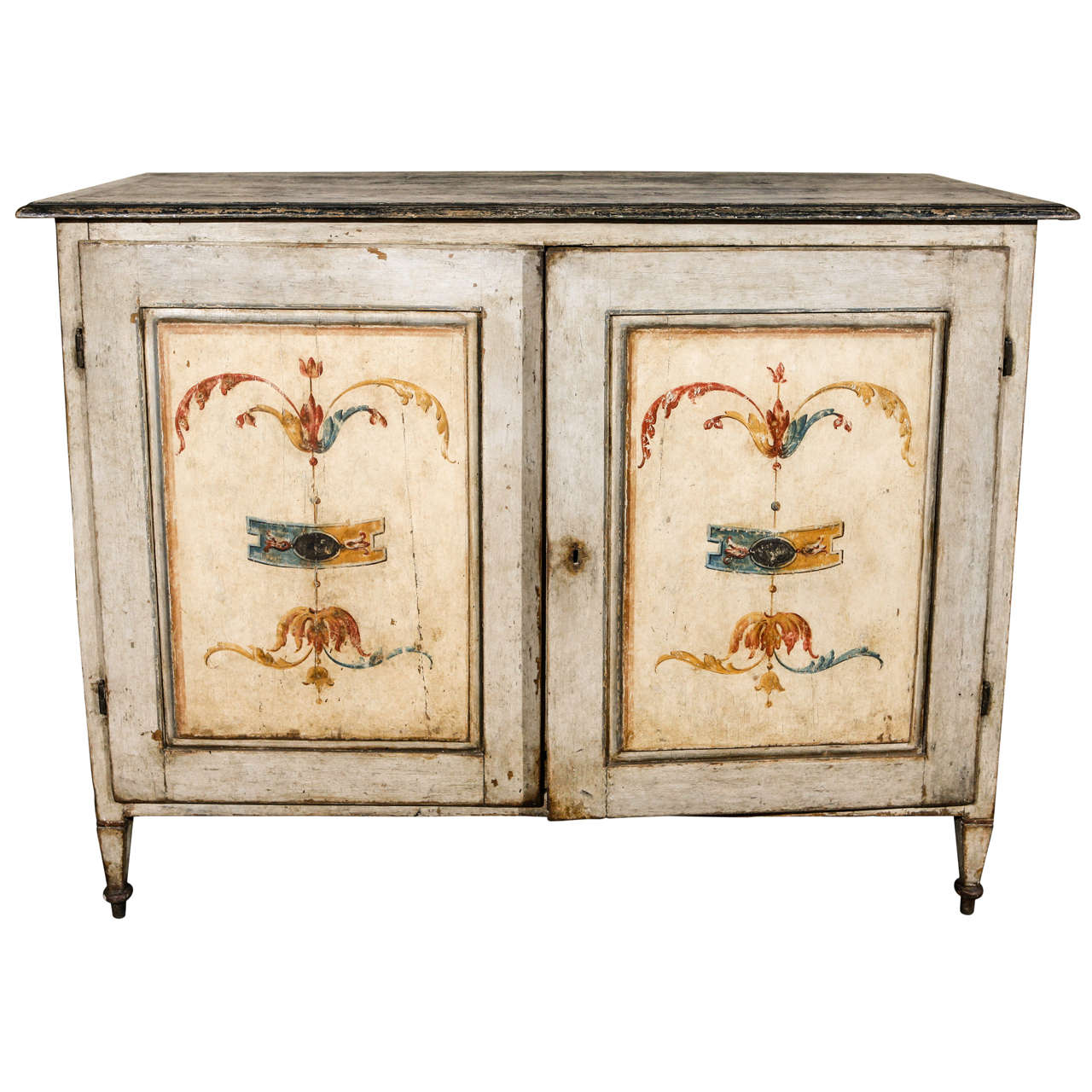 Large Hand Painted Tuscan Buffet At 1stdibs. Full resolution‎  photograph, nominally Width 1280 Height 1280 pixels, photograph with #A74624.
