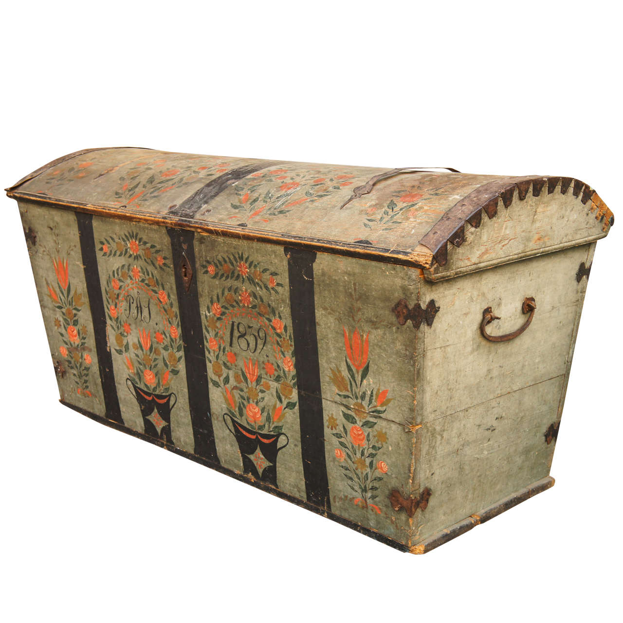 19th Century Danish Bridal Chest