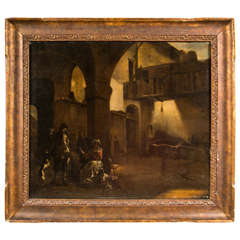 Late 17th Century Italian/Flemish Painting