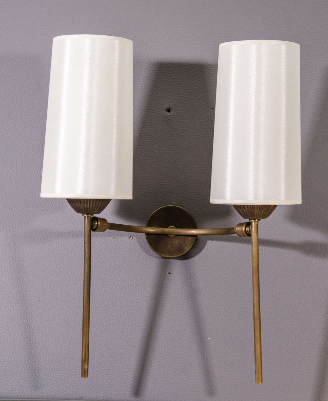 French Pair of Articulated Sconces For Sale