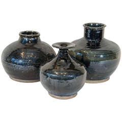 Collection Of Antique Chinese Jars