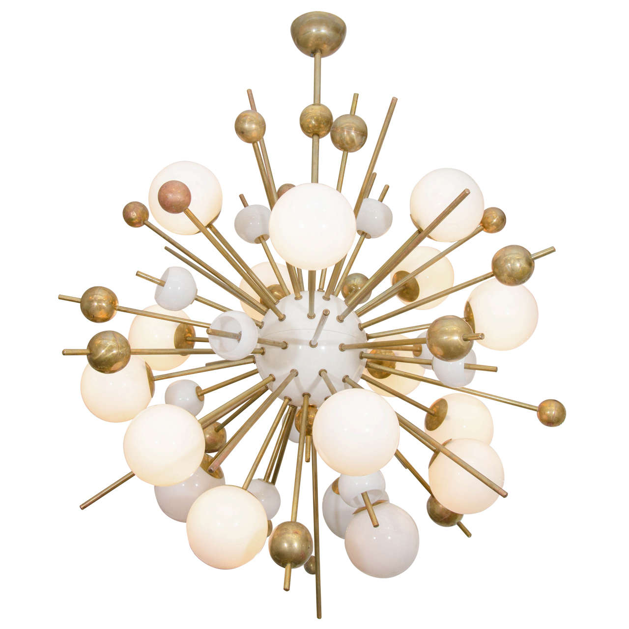 20th century large stilnovo style italian sputnik for Sputnik chandelier