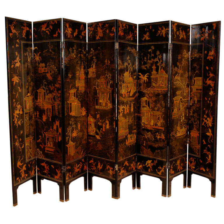 Decorative Room Dividers With Books Painted On