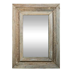 Mirror with Reclaimed Wood