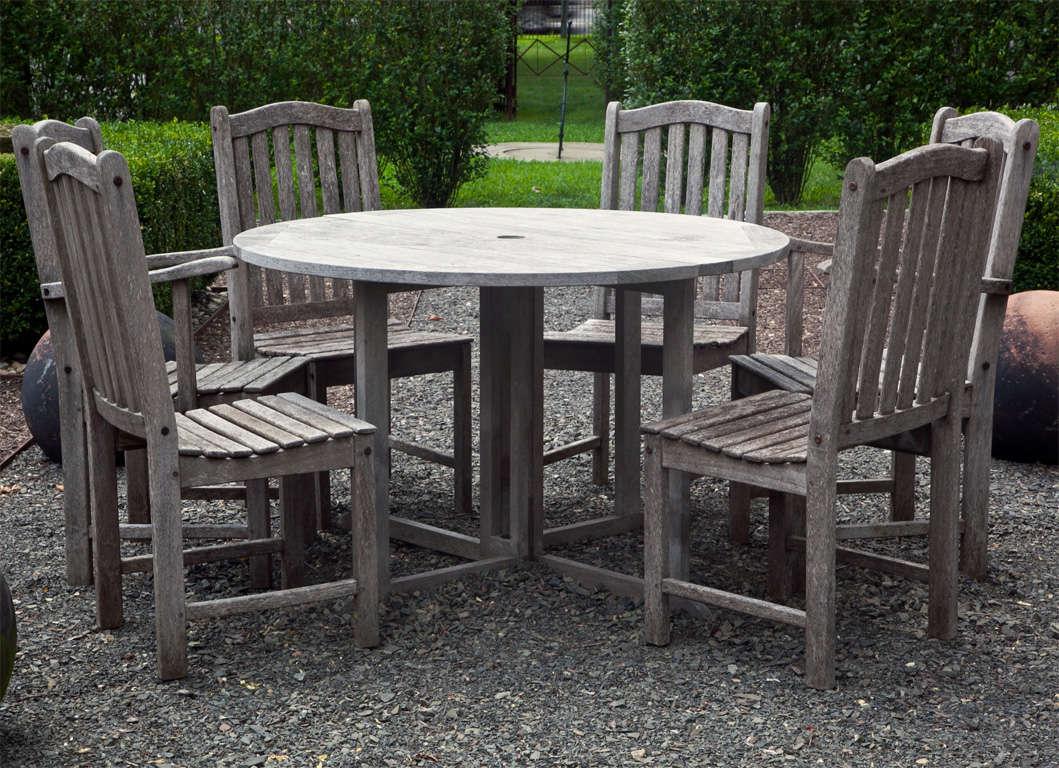Unique Outdoor Mahogany Furniture