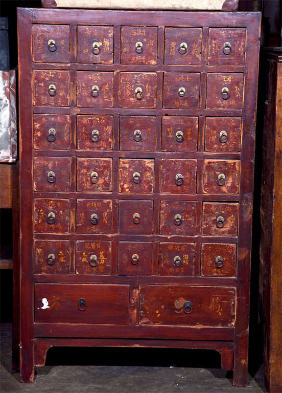 Chinese apothecary cabinet ca 1880 for sale at 1stdibs for Chinese furniture norwalk ct