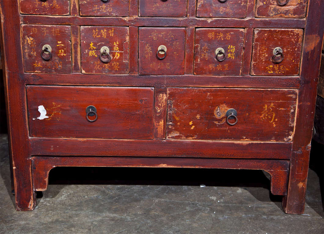 Chinese apothecary cabinet ca 1880 at 1stdibs for Chinese furniture norwalk ct