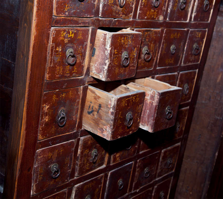 Chinese apothecary cabinet ca 1880 at 1stdibs for Oriental furniture norwalk ct